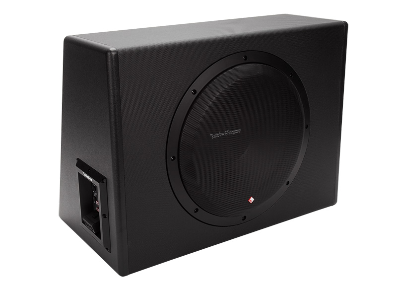 Rockford Fosgate P300-12 12-Inch 300W Single Powered Subwoofer + Enclosure
