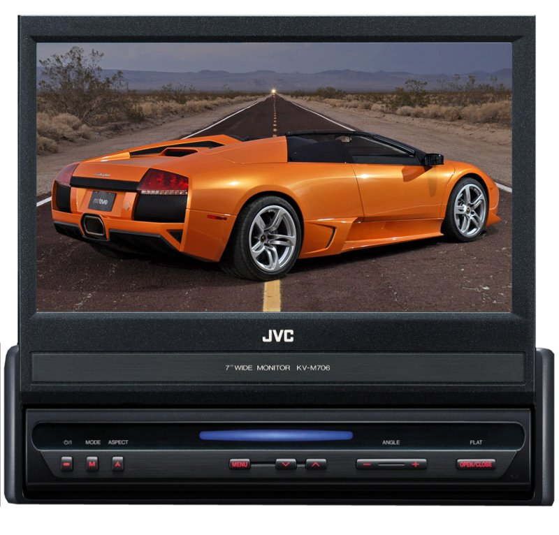 KV-M706�JVC 7-Inch LCD TFT Wide Screen Monitor