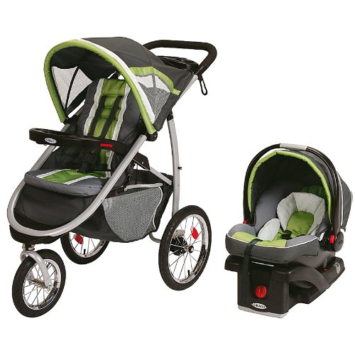 Graco FastAction Fold Jogger Stroller with SnugRide 35 Car Seat