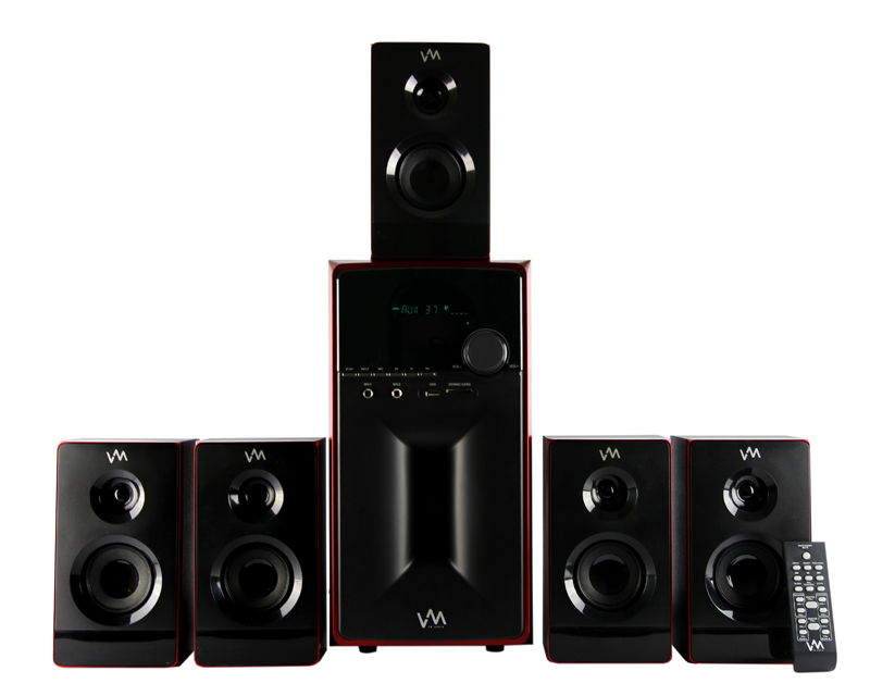 VM-EXMS581�VM Audio 5.1 Multi Media Surround Sound System | EXMS581