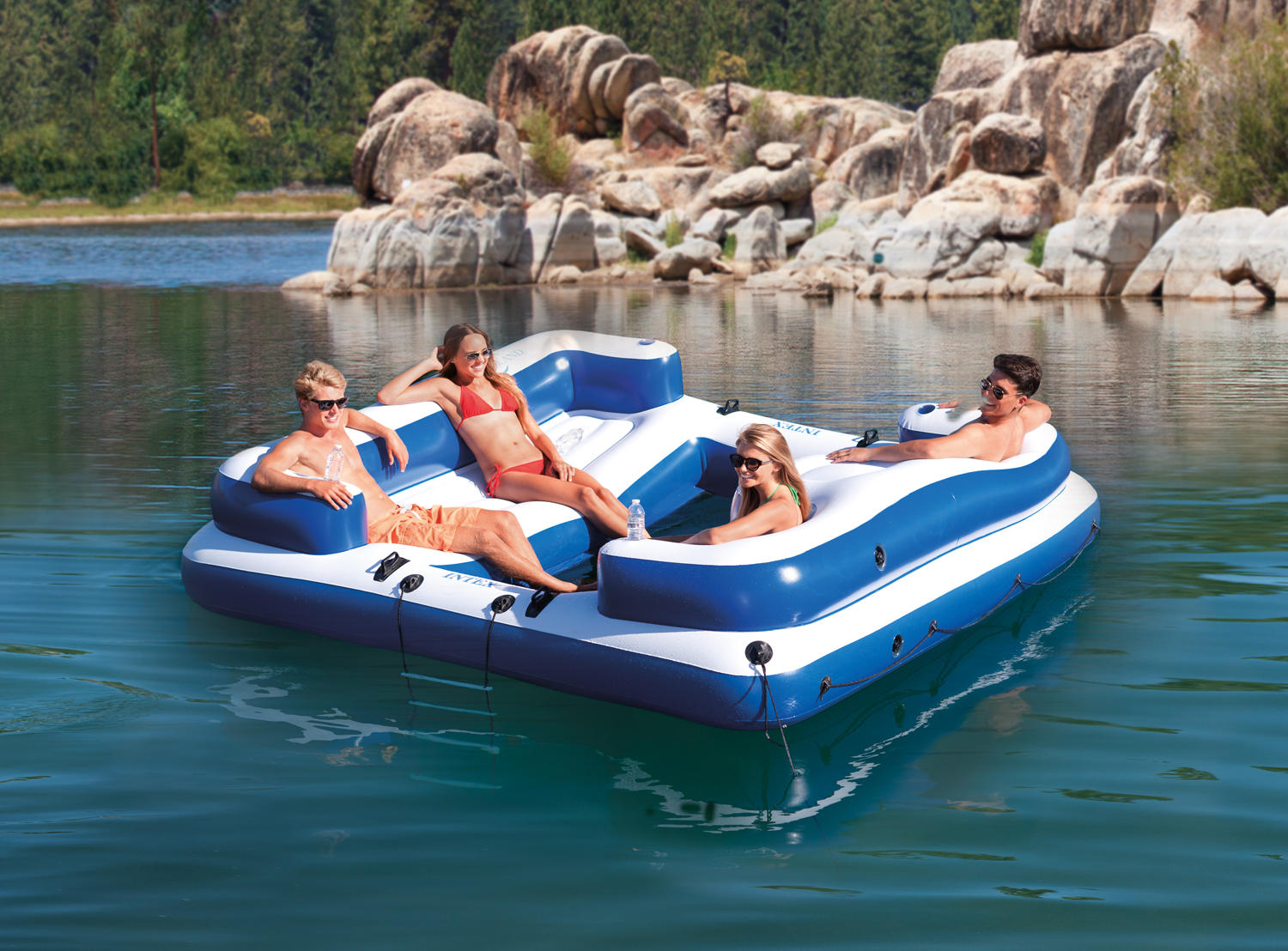 Intex Oasis Island Inflatable Lounge Raft