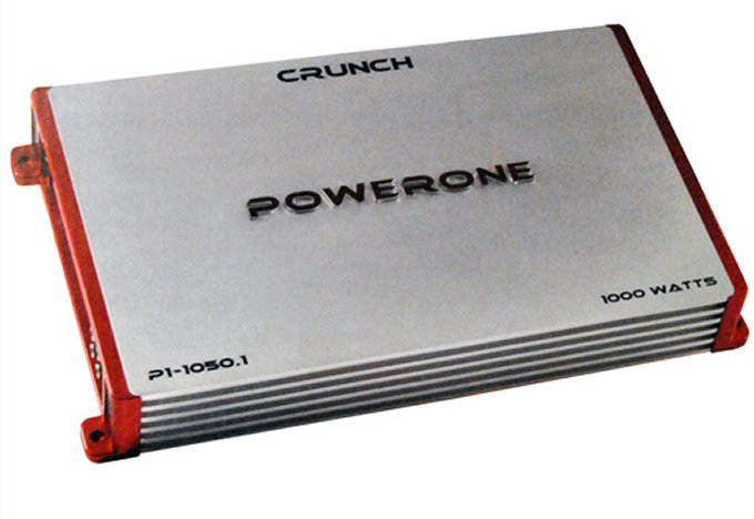 P110501�Crunch Powerone P1-1050.1 1000W Mono Amplifier