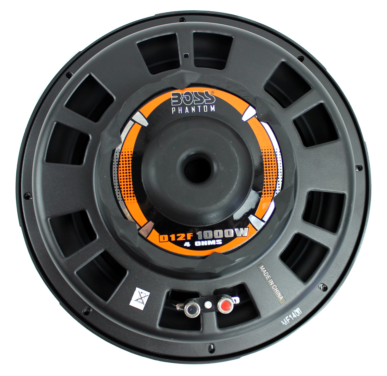 D12F�Boss Audio D12F 12-Inch 1000W Shallow Mount Subwoofer