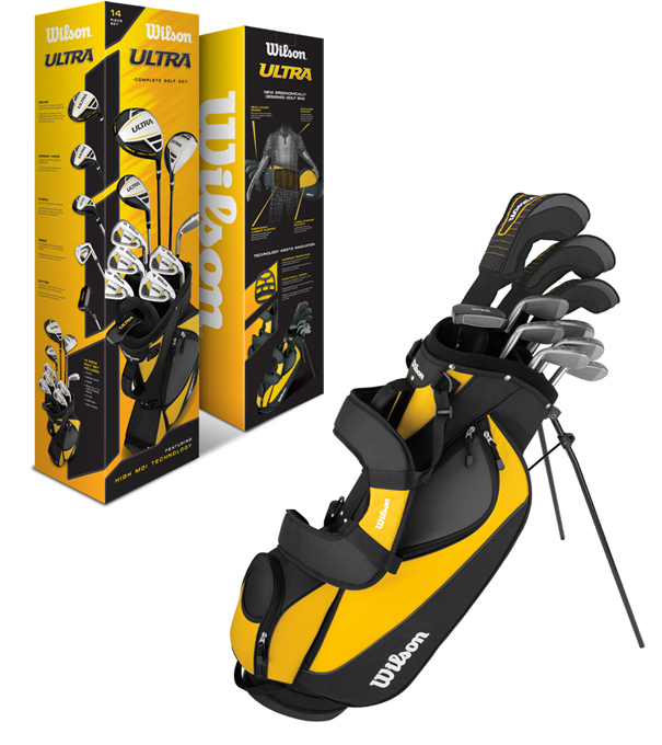 Wilson Ultra Golf Club Set w/ Bag for $129.99 + free shipping