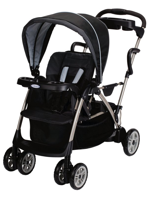 Graco RoomFor2 Stand & Ride Duo Stroller - Metropolis | 1815038