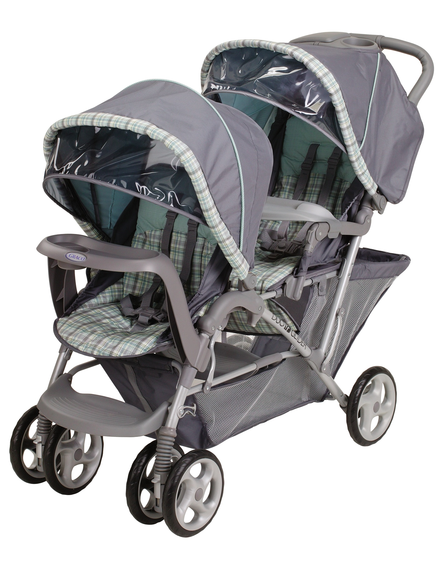 6L12WSH3�Graco DuoGlider LX Double Stroller (Wilshire) | 6L12WSH3