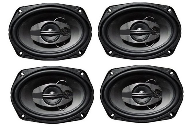 DSA6873S�Audiodrift DSA6873S 6x8-Inch 700W 3 Way Speakers (2 Pairs)