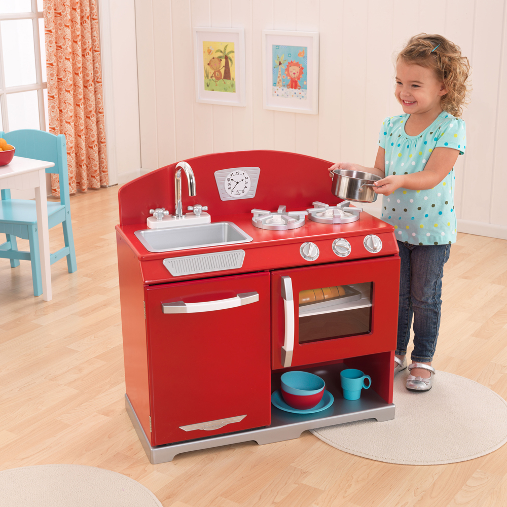 KidKraft Red Retro Kitchen | 53205A