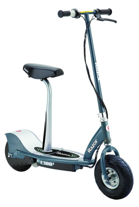 Razor E300S Seated Electric Scooter (Gray) | 13116214