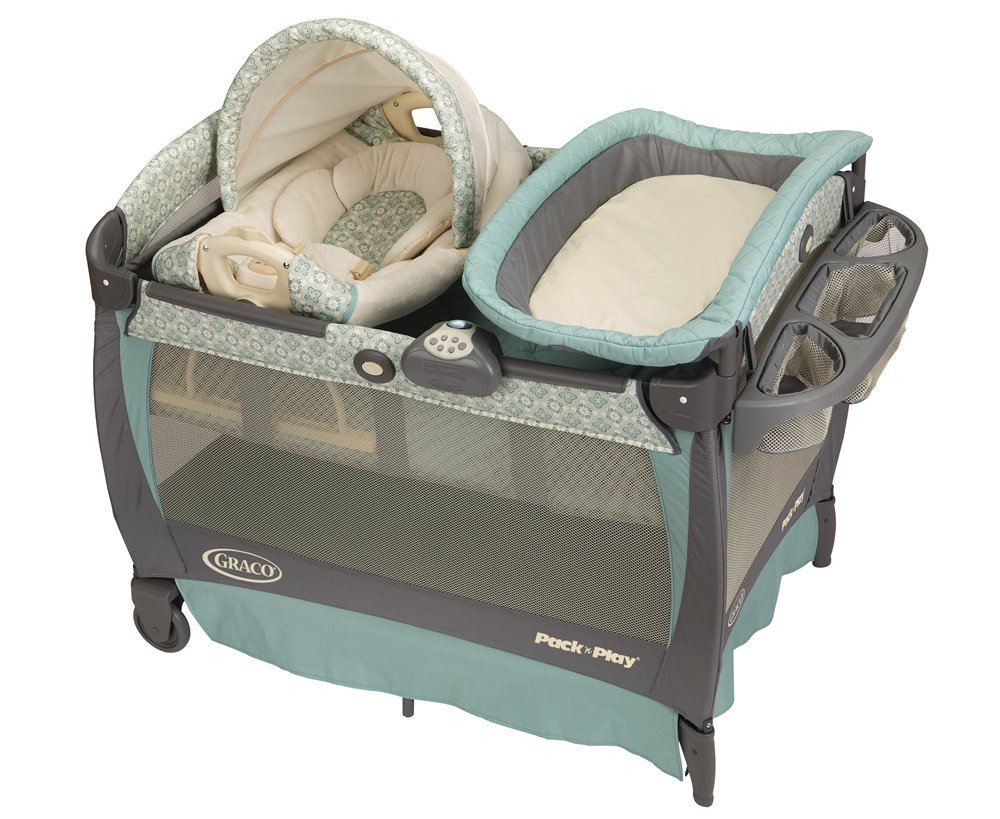Graco Pack 'n Play Playard with Cuddle Cove Rocking Seat - Winslet | 1812885
