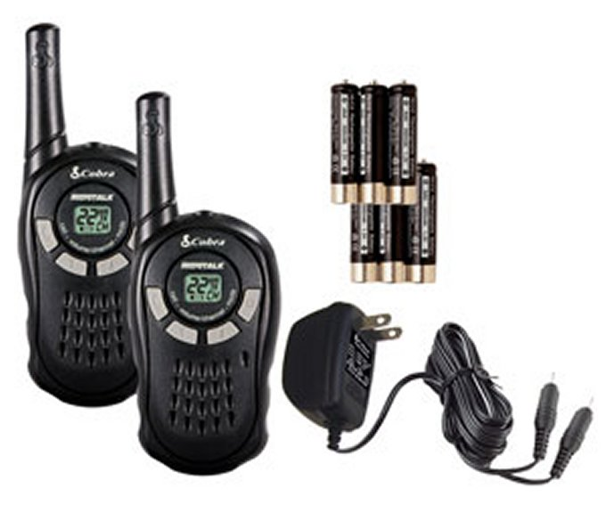 Cobra MicroTalk 16-Mile 22-Channel Walkie Talkies | CXT135