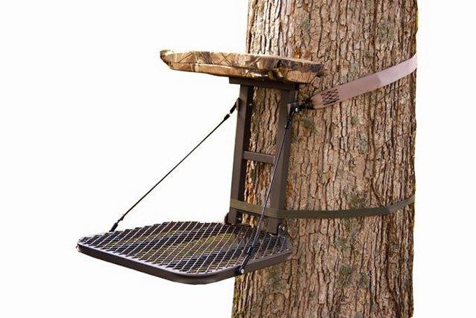 "82069-PERCHSUMMIT Perch Crush Series 82069 Hang On Tree Stand 18""x22"" - Bow & Rifle Deer Hunting"