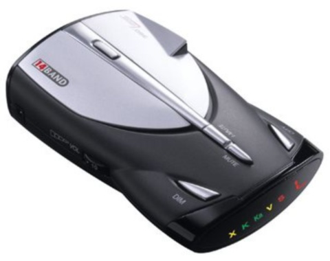 XRS-9345�Cobra XRS-9345 Digital 14 Band Radar Laser Detector
