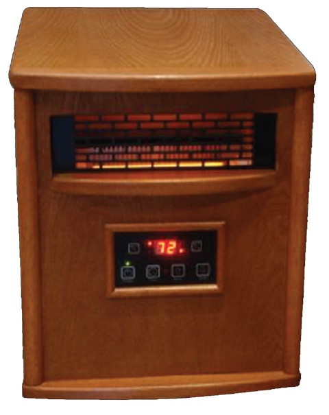 RB-LS-500-1WP�Lifesmart LS-500-1WP 1500W Infrared Quartz Electric Heater (Refurbished)