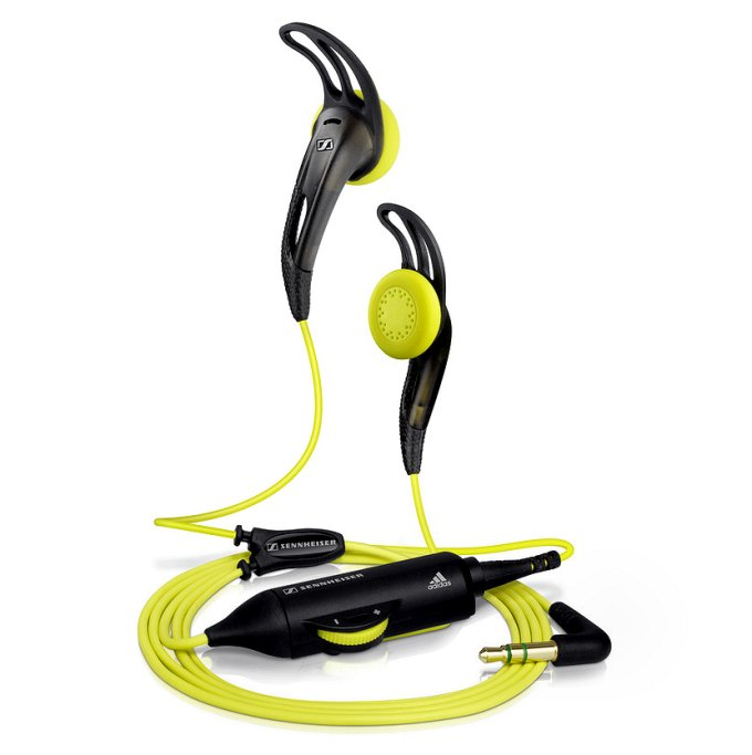 Sennheiser MX 680 Adidas Sports In Ear Earphones | Yellow (Refurbished)
