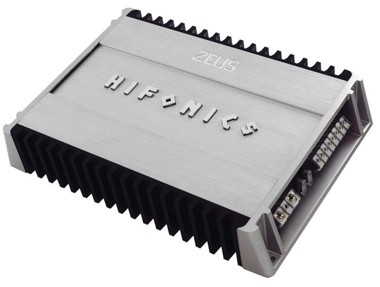 ZXI1504�Hifonics ZXI150.4 1200W RMS 4/2 Channel Amplifier