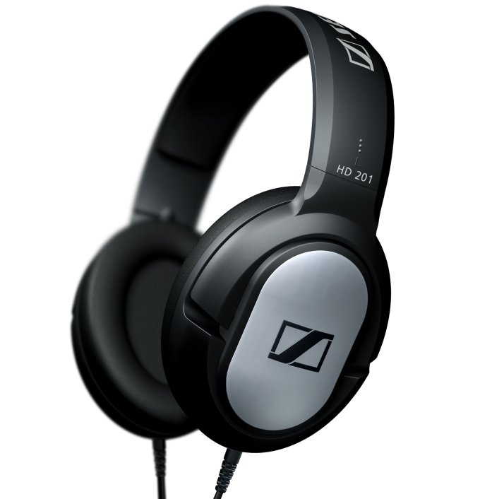 Sennheiser HD 201 Professional DJ Stereo Over Ear Hi-fi Headphones HD201 Dynamic (Refurbished)
