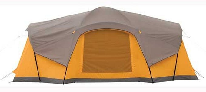 2000008916�Coleman Canyon Breeze Tent 10-Person Family Camping Tent w/ LED Lighting System & Fan