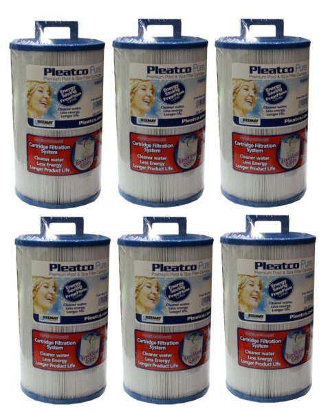 6 x PDM25P4�Pleatco PDM25P4 Pool/Spa Replacement (6 Pack)