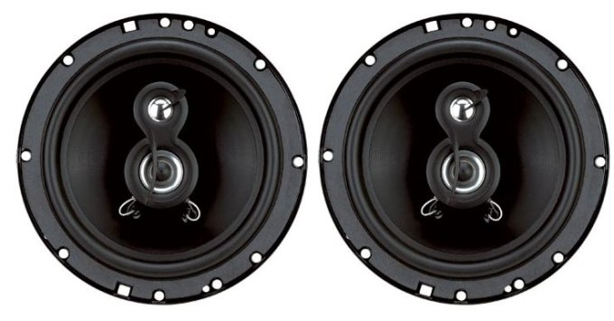 "TQ623�Planet Audio TQ623 6.5"" 120W 3-Way Car Audio Speakers (Pair)"