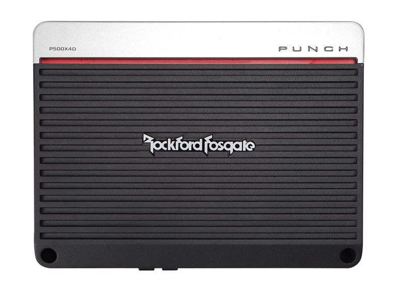 P500X4D�Rockford Fosgate P500X4D 500 Watt 4-Channel Car Audio Amplifier