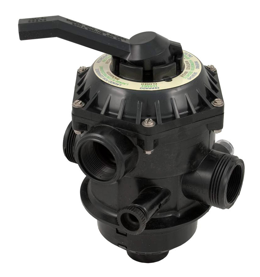 Pentair 262506 1-1/2 6-Way Clamp Style Valve Replacement Pool and Spa Sand Filter