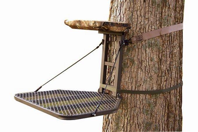 "82070-STOOPSUMMIT Stoop Crush Series 82070 Hang On Tree Stand 25""x25"" - Bow & Rifle Deer Hunting"