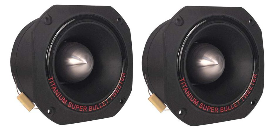 TW67�Pyramid Pro TW67 3-Inch 1000W Bullet Super Tweeters (Pair)