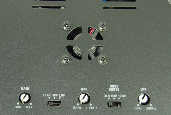 APSM2075�Audiopipe APSM-2075 440W 2 Channel Mini Amplifier