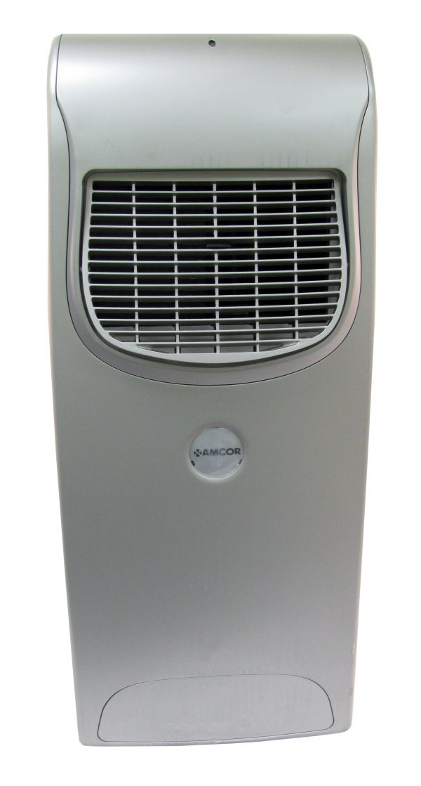 MF9000-SILVER-RB�Amcor 9,000-BTU Portable Air Conditioner (Silver)