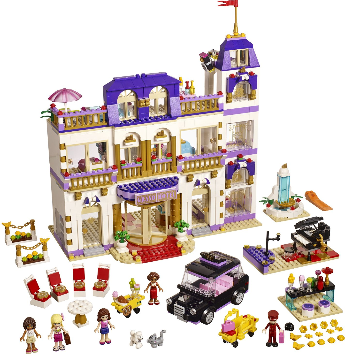 Lego� Friends Girls Heartlake Gradn Hotel Kids Building Set | 41101