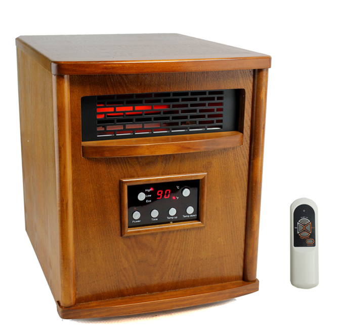 LS-4W1500-X�LifeSmart 1500W Infrared Quartz Electric Heater | LS-4W1500-X