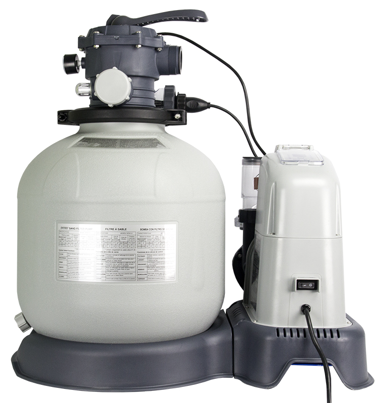 56681EG�Intex 2650 GPH Saltwater System & Sand Filter Pump Set | 28681EG (56681EG)