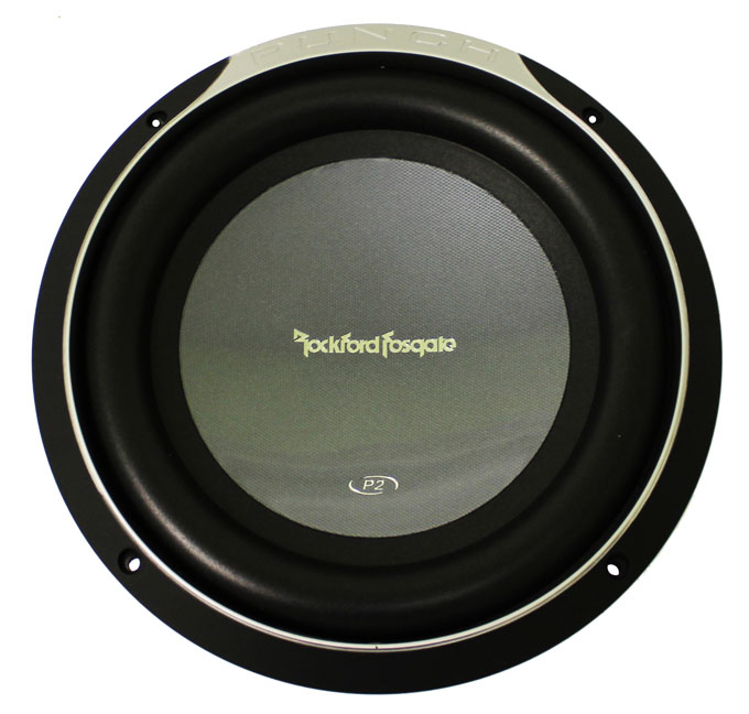 "P2D210�Rockford Fosgate P2D210 10"" 500 Watt 2-Ohm Punch Series Subwoofer"