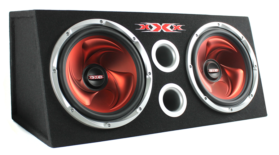 XBX-1200�XBX1200 Dual Subs with Amplifier Kit and Enclosure 1200W