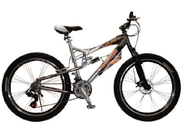 "R4674WMA�Mongoose 26"" XR250 Dual Suspension All-Terrain Mountain Bike 