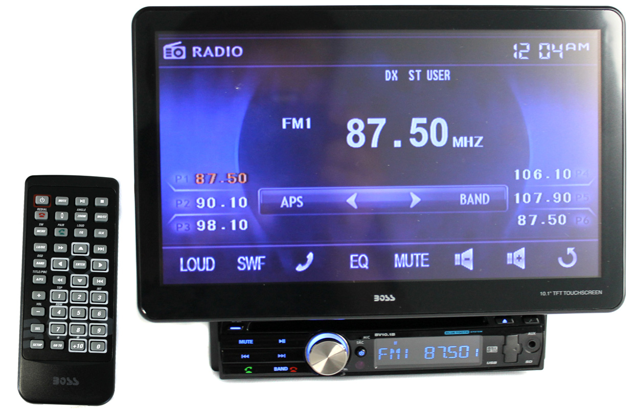 "BV10.1B�Boss BV10.1B 10.1"" In-Dash Bluetooth DVD/MP3/CD Touchscreen Receiver"