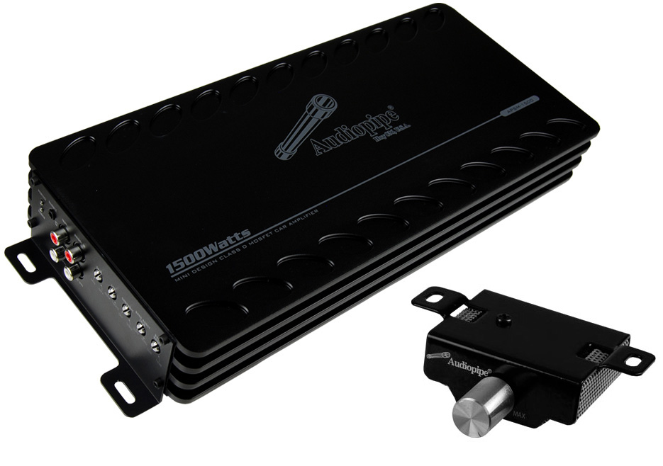 APSM1500�Audiopipe APSM-1500 1500 Watt Mono D Mini Amplifier