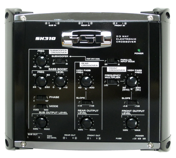SX310�Soundstorm SX310 2 Way Electronic Crossover with Remote