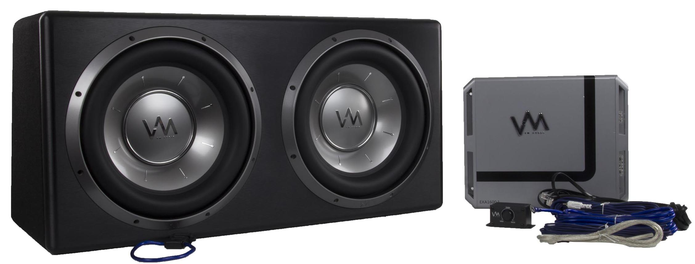 "VM Audio 10"" Elux Competition Bass Package 