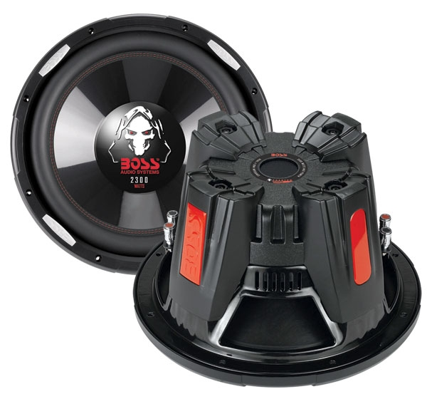 P156DVC + QBASS15�Boss P156DVC 15-Inch 5000W Subwoofers (Pair) with a Dual 15-Inch Subwoofer Box Enclosure