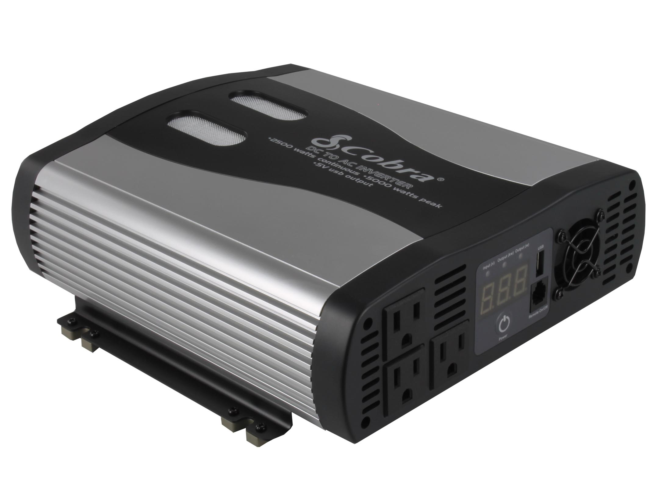 Cobra DC to AC Power Inverter w/USB | CPI2575