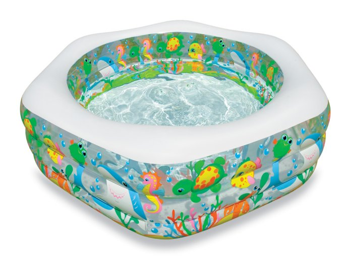 56493EP�INTEX Ocean Reef Inflatable Swimming Pool