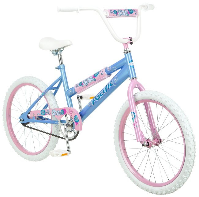 "201145PA�Pacific 20"" Girl's Gleam Kids Bike 
