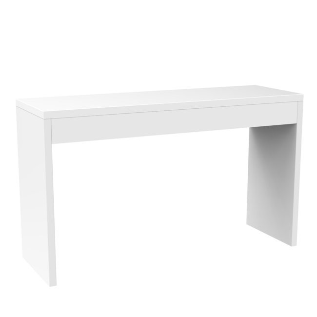 R4-0116�Northfield Modern Espresso Wood Console Hallway Table - White | 111091W