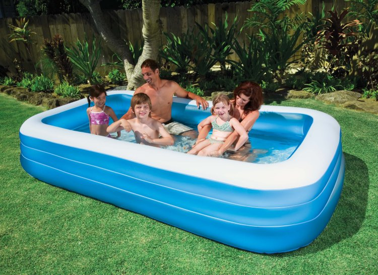 "58484EP�Intex Swim Center Family Swimming Pool - 72"" x 120"" 