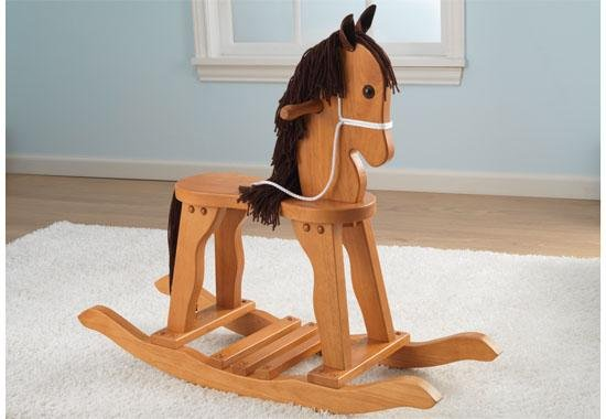 19641�KidKraft Derby Rocking Horse - Honey