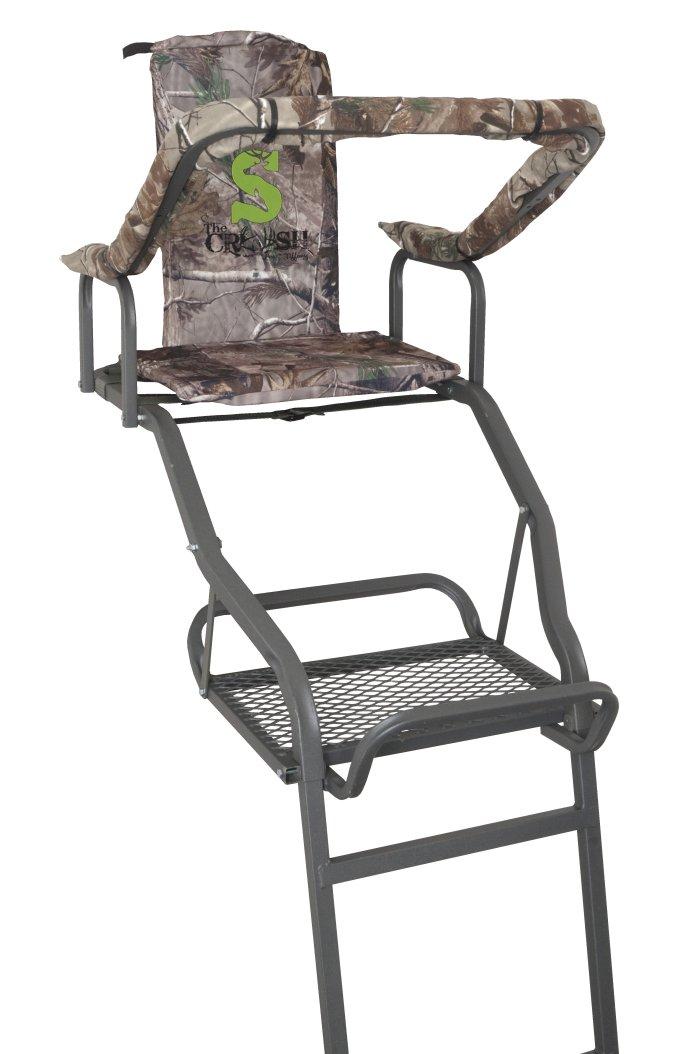 82068-FLATLINESummit Solo Deluxe Performer Crush Series 14.5' Ladderstand Treestand 82068 - Deer Hunting