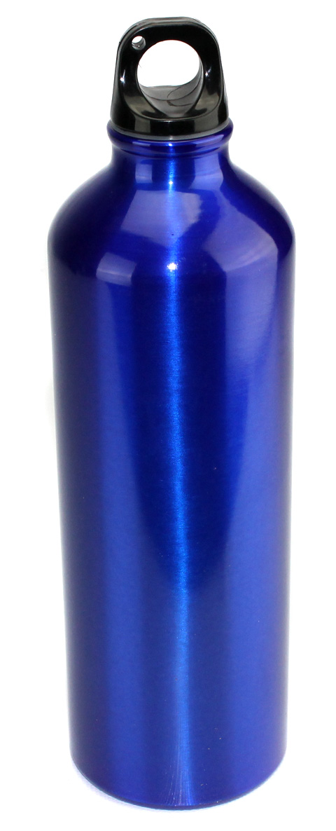 Aluminum A1017 25 Oz (750ml) Water Bottle - Blue