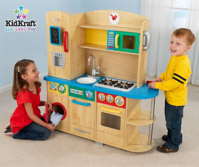 KidKraft Cook Together Kitchen Play Set